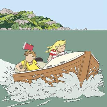 La bande dessinée jeunesse, toutes premières cases