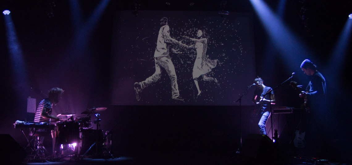 BD Concert avec La Nouvelle Vague