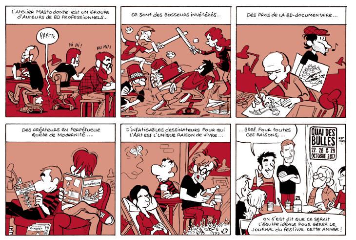 Strip Pascal Jousselin